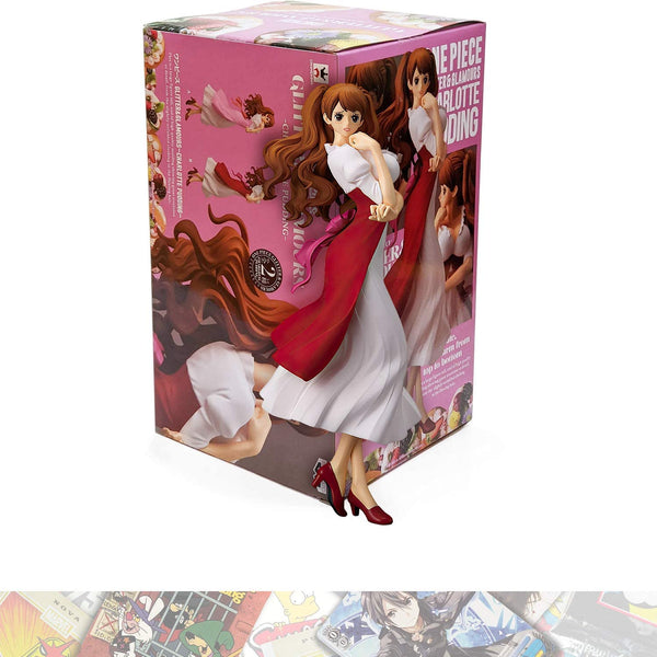 One Piece Glitter & Glamours Charlotte Pudding (Red) Figure Super Anime Store