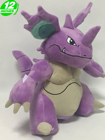 Anime Pokemon Nidoking Plush Doll 12''