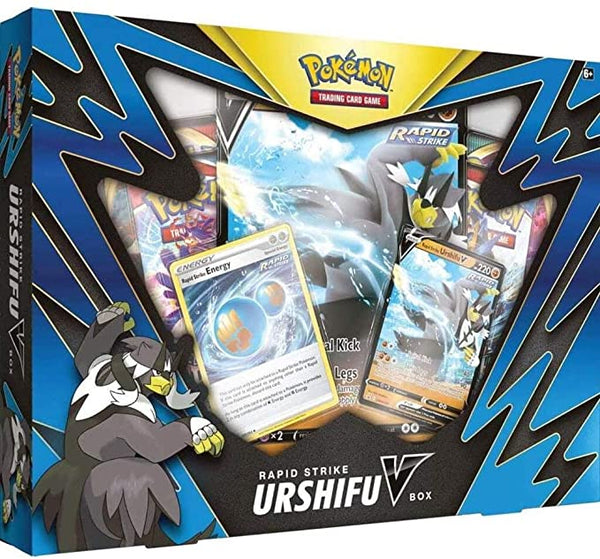 Pokémon TCG: Rapid Strike Urshifu V Box Super Anime Store