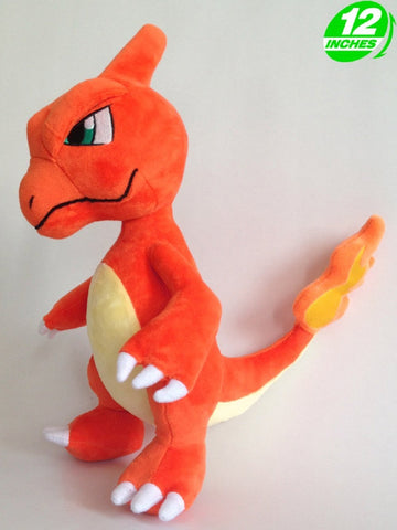 Super Anime Store Anime Pokemon Charmelon Plush Doll 12''