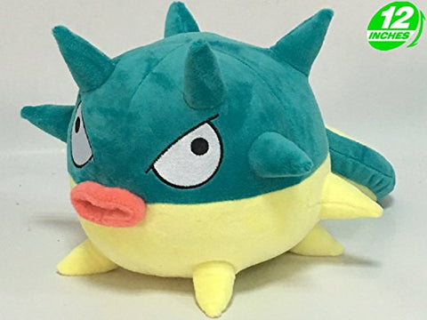 Super Anime Store Anime Pokemon Qwilfish Plush Doll 12''