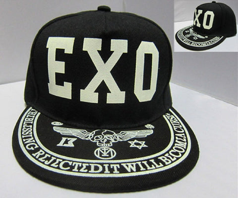 Anime K-pop EXO Hat - Super Anime Store FREE SHIPPING FAST SHIPPING USA