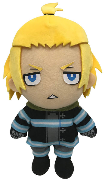 "FIRE FORCE- ARTHUR FIREMAN UNIFORM PLUSH 8""H Super Anime Store"