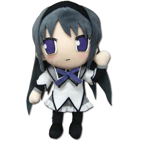 "Great Eastern Madoka Magica: Homura Plush Doll, 8"" Super Anime Store"