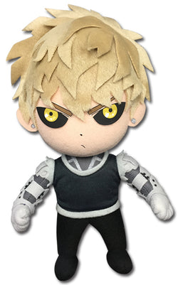 "Great Eastern Entertainment One Punch Man Genos Plush Doll 8"" Super Anime Store"