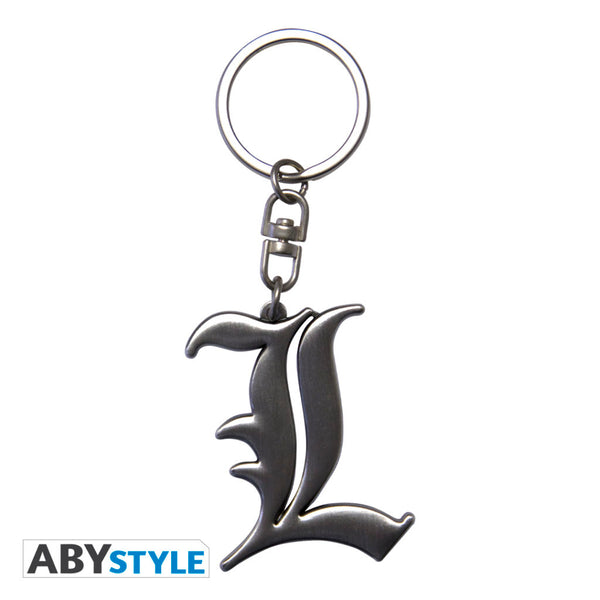 "DEATH NOTE - L"" 3D Keychain"" Super Anime Store"