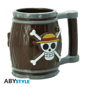 ONE PIECE - Barrel 3D Coffee Mug Super Anime Store