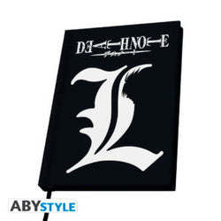 "DEATH NOTE - ""L"" Hardcover Notebook Super Anime Store"