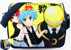 Assassination Classroom Messenger Bag 1 - Super Anime Store FREE SHIPPING FAST SHIPPING USA