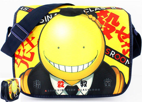 Assassination Classroom Messenger Bag 2 - Super Anime Store FREE SHIPPING FAST SHIPPING USA