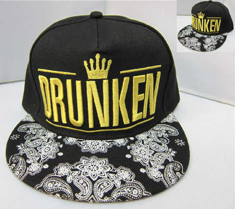K-Pop Drunken Cap Hat - Super Anime Store FREE SHIPPING FAST SHIPPING USA