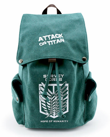 Attack On Titan Bag Backpack - Super Anime Store FREE SHIPPING FAST SHIPPING USA