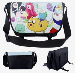 Adventure Time Group Messenger Bag - Super Anime Store FREE SHIPPING FAST SHIPPING USA
