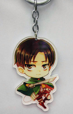 Attack On Titan Levi Keychain - Super Anime Store FREE SHIPPING FAST SHIPPING USA
