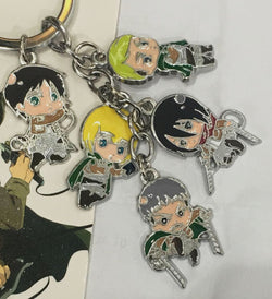 Attack on Titan Keychain - Super Anime Store FREE SHIPPING FAST SHIPPING USA