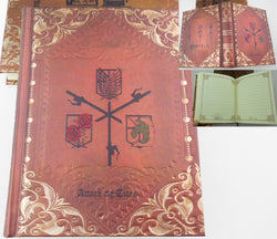 Attack on Titan Notebook - Super Anime Store FREE SHIPPING FAST SHIPPING USA