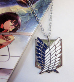 Attack on Titan Necklace - Super Anime Store FREE SHIPPING FAST SHIPPING USA