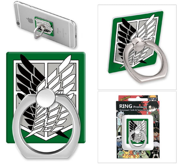 Attack On Titan Phone Ring Holder - Super Anime Store FREE SHIPPING FAST SHIPPING USA