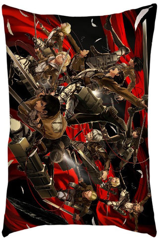Attack On Titan Pillow - Super Anime Store FREE SHIPPING FAST SHIPPING USA