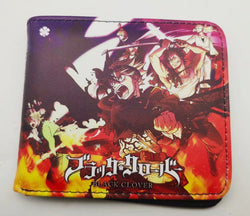 Black Clover Wallet - Super Anime Store FREE SHIPPING FAST SHIPPING USA