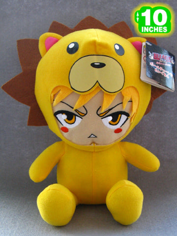 Bleach Ichigo in Cosplay Plush Doll - Super Anime Store FREE SHIPPING FAST SHIPPING USA