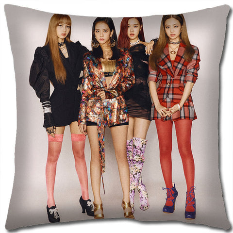 K-Pop Black Pink Pillow - Super Anime Store FREE SHIPPING FAST SHIPPING USA