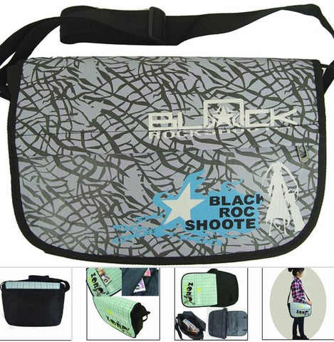 Black Rock Shooter Messenger Bag - Super Anime Store FREE SHIPPING FAST SHIPPING USA