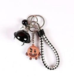 K-Pop BTS Keychain Bell BT21 - Super Anime Store FREE SHIPPING FAST SHIPPING USA