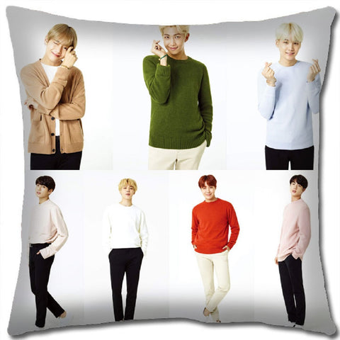 K-pop BTS Pillow - Super Anime Store FREE SHIPPING FAST SHIPPING USA