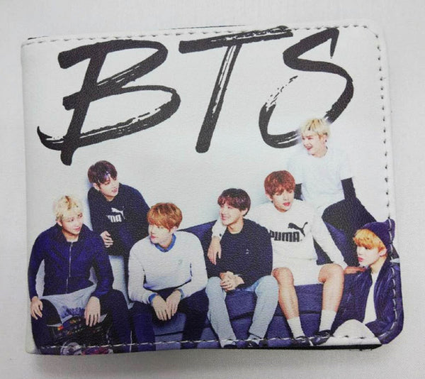 K-pop BTS Wallet - Super Anime Store FREE SHIPPING FAST SHIPPING USA