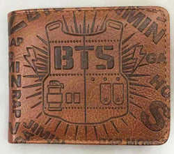 K-pop BTS Wallet Super Anime Store