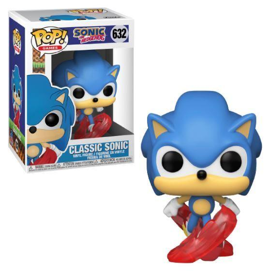 Funko POP 632 Games: Sonic 30th Anniversary Classic Sonic Figure Super Anime Store