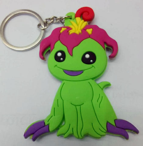 Digimon Adventure Palmon Keychain - Super Anime Store FREE SHIPPING FAST SHIPPING USA