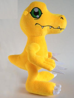 Digimon Adventure Agumon Plush Doll - Super Anime Store FREE SHIPPING FAST SHIPPING USA