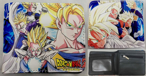 Dragon Ball Z Super Saiyan Wallet - Super Anime Store FREE SHIPPING FAST SHIPPING USA