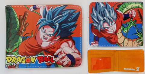 Dragon Ball Z Goku God Wallet - Super Anime Store FREE SHIPPING FAST SHIPPING USA