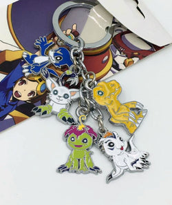 Digimon Adventure Keychain Agumon and Others - Super Anime Store FREE SHIPPING FAST SHIPPING USA