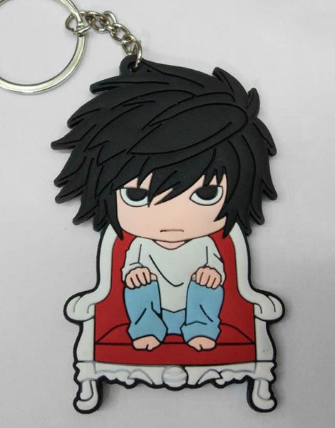 Death Note L Keychain - Super Anime Store FREE SHIPPING FAST SHIPPING USA
