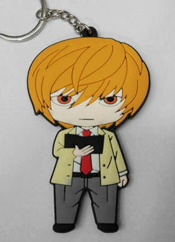 Death Note Light Keychain - Super Anime Store FREE SHIPPING FAST SHIPPING USA