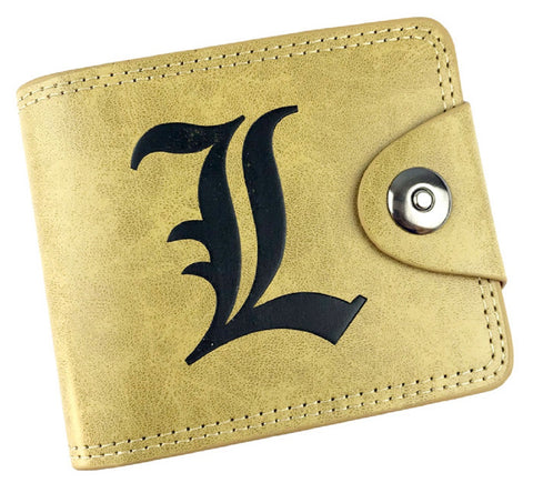 Death Note L Wallet - Super Anime Store FREE SHIPPING FAST SHIPPING USA