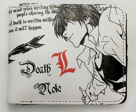 Death Note Light Wallet - Super Anime Store FREE SHIPPING FAST SHIPPING USA