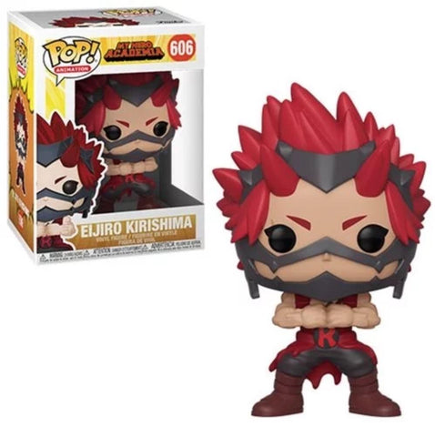Funko POP 606 Anime: My Hero Academia Eijiro Kirishima Figure Super Anime Store
