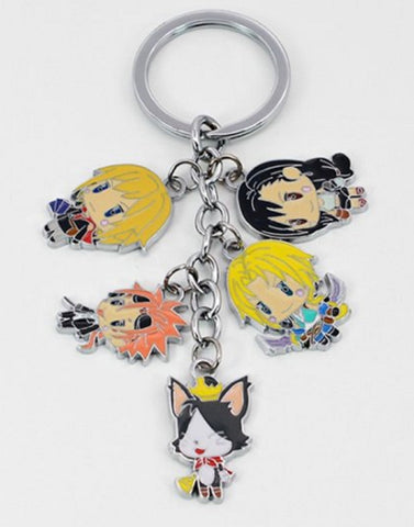 Final Fantasy Keychain - Super Anime Store FREE SHIPPING FAST SHIPPING USA