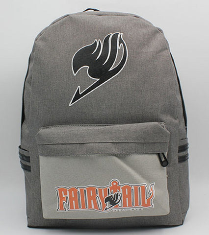 Fairy Tail Gray Backpack Bag - Super Anime Store