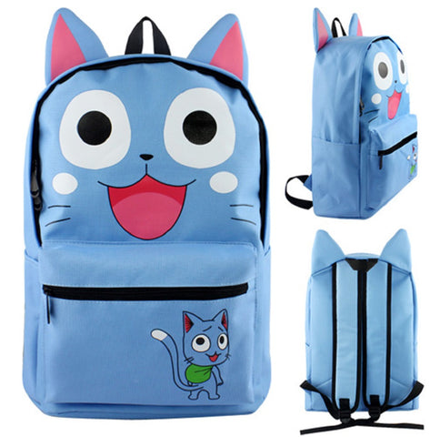 Fairy Tail Happy Backpack Bag - Super Anime Store FREE SHIPPING FAST SHIPPING USA