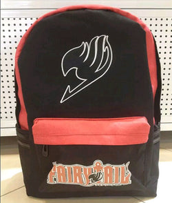 Fairy Tail Black and Red Backpack bag - Super Anime Store FREE SHIPPING FAST SHIPPING USA
