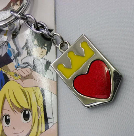 Fairy Tail Shield Keychain - Super Anime Store FREE SHIPPING FAST SHIPPING USA