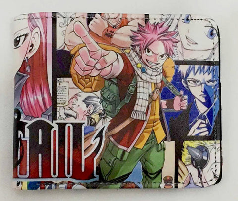 Fairy Tail Natsu Wallet - Super Anime Store FREE SHIPPING FAST SHIPPING USA
