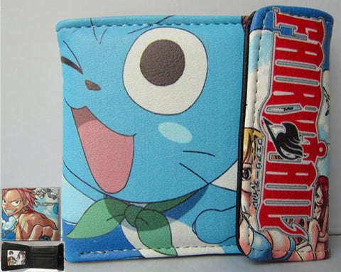 Fairy Tail Happy Wallet #2 - Super Anime Store FREE SHIPPING FAST SHIPPING USA