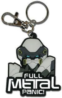Fullmetal Panic! keychain 2 - Super Anime Store FREE SHIPPING FAST SHIPPING USA